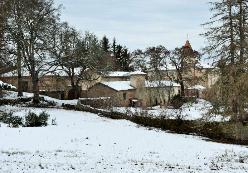 PCU_Château de Folgoux_ enneigé
