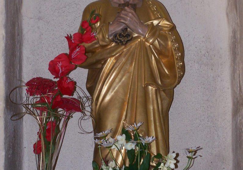 PCU_Eglise Saint-Pierre_Statue de St-Pierre