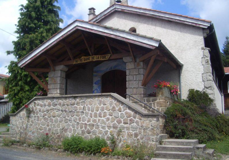 PCU_Chapelle Notre-Dame de la Forêt_façade extérieure