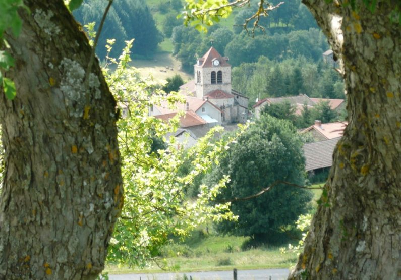 EQUI_PR 610 – Les Collines du Doulon_vue sur église