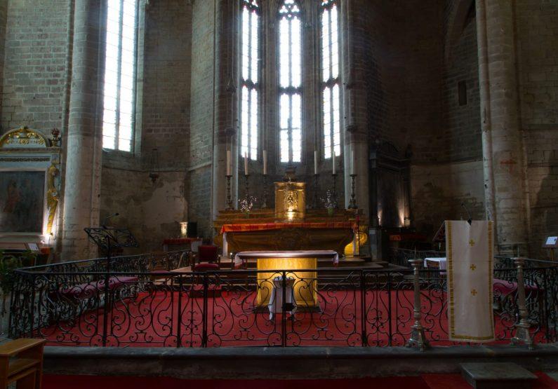 PCU_Abbaye de La Chaise-Dieu_Abbatiale St-Robert_autel choeur