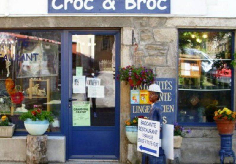 COS_Antiquités Brocante «Croc et Broc»_devanture