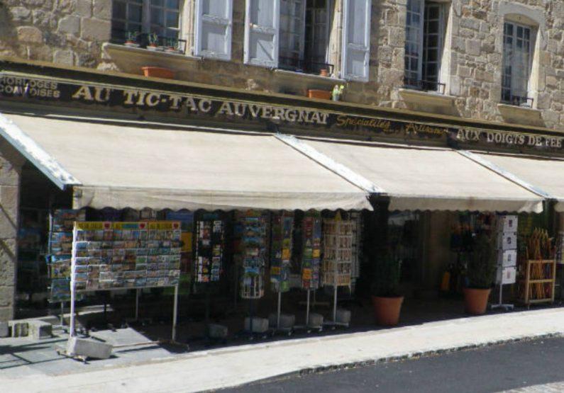 COS_Au Tic-Tac Auvergnat_magasin de souvenir_devanture