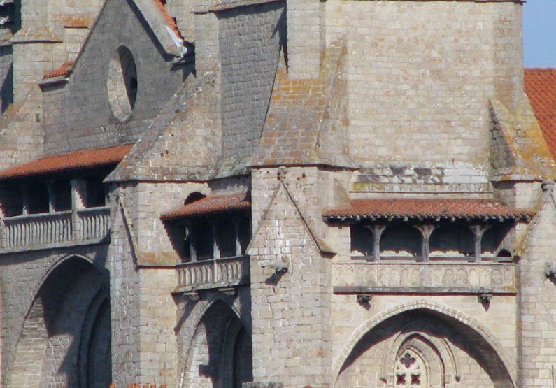 PCU_Chemin de Ronde_Abbaye de La Chaise-Dieu