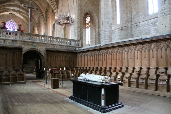 PCU_Eglise Abbatiale Saint-Robert_Abbaye de La Chaise_Dieu_Tombeau Clément VI