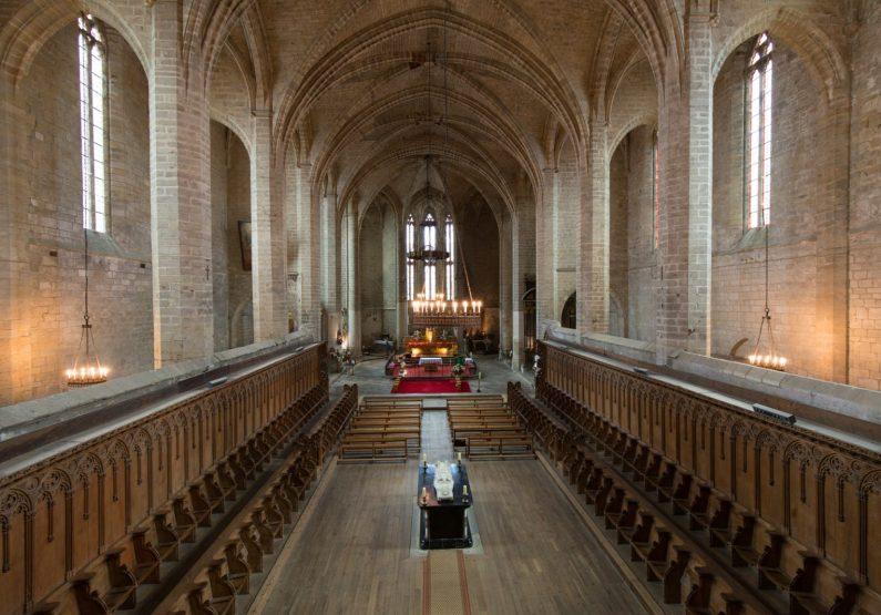 PCU_Eglise Abbatiale Saint-Robert_Abbaye de La Chaise_Dieu_choeur